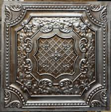 Decorative Tin Tiles For Wall PL60 Faux antique tin copper metallic ceiling tiles Interior wall 2