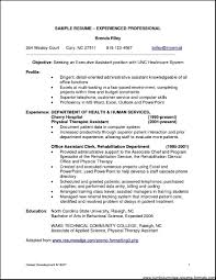 Examples Of Resumes Job Resume Sample Format For Paramedical