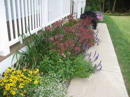 flower garden designs for front of house landscaping gardening ideas throughout bed inspirations 9
