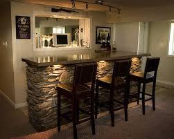 Image of: Cool Basement Ideas Bar
