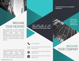 Fold Flyer Tri Fold Brochure Template Postermywall