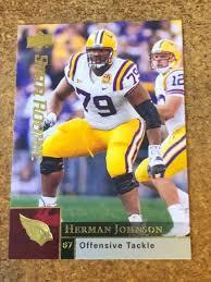 2009 Upper Deck Football Star Rookie # 250 Herman Johnson RC | eBay