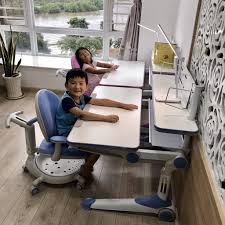 Bộ bàn học Hanover D01M + ghế Hanover C01A/ C11A chống gù, chống cận cho trẻ  em tặng đèn led chống cận tại TP. Hồ Chí Minh