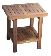 wood shower stool cedar shower bench wooden shower stool teak bench bath furniture aqua wood corner