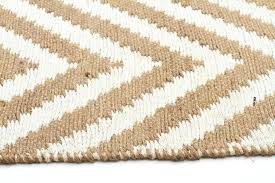 navy chevron jute rug beige cotton skinny mini