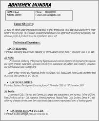 30 Fresh Professional Profile Resume Examples Engineer