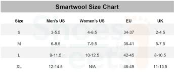 Smartwool Women S Socks Size Chart Smartwool Size Chart Shoes For Feets
