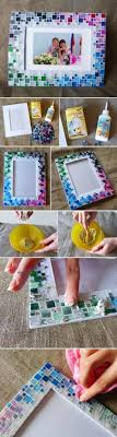 DIY Colorful Mosaic Picture Frame Pictures, Photos, and Images for  Facebook, Tumblr,