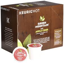 green mounn hot apple cider single serve capsules for keurig k cup pod brewers 24 count amazon grocery gourmet food