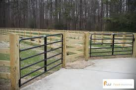 wood farm fence gate. FL Functional And Affordable Farm Fencing In Orlando, Wood Fence Gate