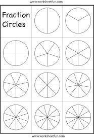 Kindergarten Free Equivalent Fractions Worksheets Picture ...