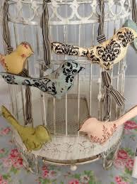 vintage bird decor | Vintage Bird Decoration