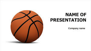 Basketball Powerpoint Template Download Free Ball Of Basketball PowerPoint Template For Your 20