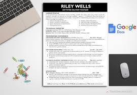 Resume Template Riley Wells Bestresumes