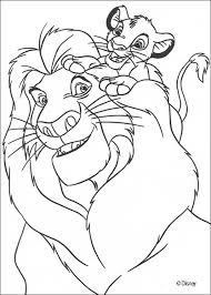 Small Picture Simba with mufasa coloring pages Hellokidscom