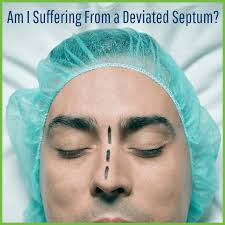 deviated septum suffering from