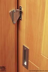 Pocket Door Privacy Lock Set With Indicator Polished Chrome 93 ...