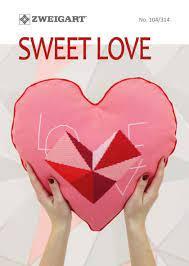 zweigart sweet love de zweigart