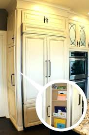 48 built in refrigerator built in refrigerators panel ready refrigerator kitchen traditional with appliances image by