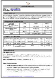 Fresher Resume Sample Of A Fresher B Tech Mechanical With Excellent