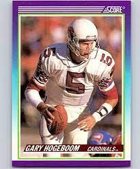 1990 Score Football #529 Gary Hogeboom Phoenix Cardinals Official NFL  Trading Card (from Factory Set Break): Collectibles & Fine Art - Amazon.com