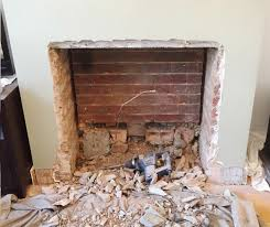 how to wood burning stove instatation old gas fire