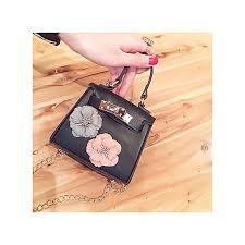 kids new korean style flower mini kelly bag handbag chain pack cross bag for girl