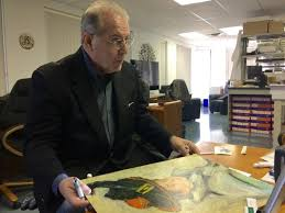 carl sabatino believes that the artwork he found underneath his aunt s sewing machine at her home