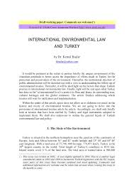 turkey and international environmental law turkey and international environmental law draft working paper comments are welcome acirc136151 accessed at usak atilde135evre araaring159taumlplusmnrma