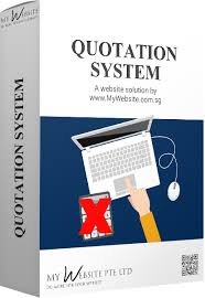Quotation System, My Website Online Store