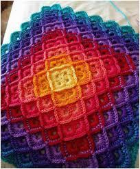 Best 25+ Crochet blankets ideas on Pinterest | Crochet blanket ... & Shells Perfect Harmony Rainbow Crochet Blanket [Free Pattern] Adamdwight.com