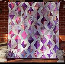 My Fabric Obsession: Purple Diamonds! & It's finally finished! This started in February as my block for Make it  Modern. They did such a great job that I decided to double the number of  blocks to ... Adamdwight.com