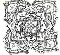 25 Fantastiche Immagini Su Mandala Difficili Da Colorare Per Adulti