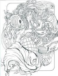 Free Printable Mermaid Coloring Pages Free Printable Mermaid