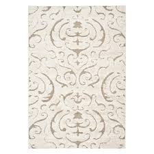 safavieh florida hand hooked cream and beige area rug lowe s canada