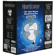 hurricane wall mount fans