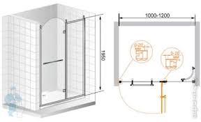 <b>Душевая дверь CEZARES RETRO</b> правая (1200х1950) B-11-120 ...