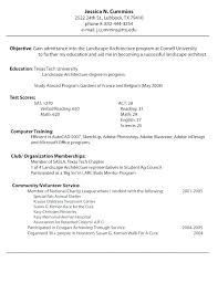 Good Resume Examples For First Job Stunning Resume Examples Career Objective Resume Example For Job Application
