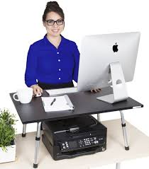 executive stand steady standing desk converter large
