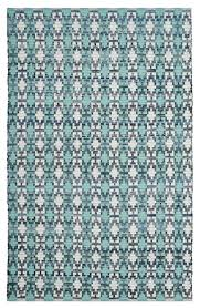 rectangular hand woven area rug in multicolor 6 ft l x 4 ft w contemporary area rugs by ladder