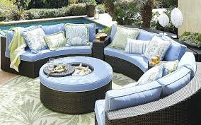 curved outdoor seating garing curved outdoor patio sofa