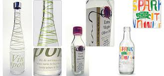 embossing printing is to add a visual effect as well as a texture similar to a paper label to a glass surface