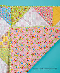 everyone needs a simple baby blanket or baby quilt pattern in their nal find one