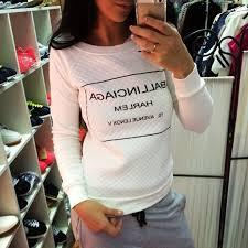 Moleton Feminino White Black <b>fashion Women Hoody Spring</b> ...
