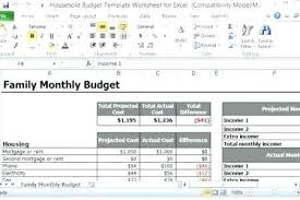 household budget software free download free family budget spreadsheet household budgeting template family