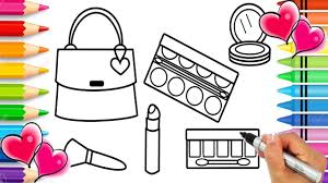 Glitter Makeup Coloring Page Glitter Coloring Pages Glitter