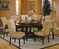image of 72 inch round dining table modern