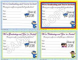 Preschool Graduation Announcements Preschool Graduation Invitations Announcements Lessons For
