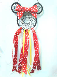 Minnie Mouse Dream Catcher Delectable Minnie Mouse Dream Catcher Minnie Dream Catcher Minnie Mouse Etsy