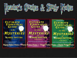 resource materials print sources harry potter notes readers